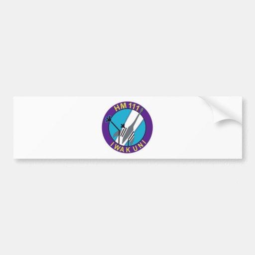 航空隊 del 岩国基地第 111 pegatina de parachoque