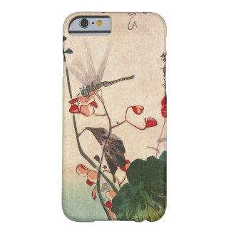 花にトンボ, 広重 Dragonfly and Flower, Hiroshige, Ukiyo-e Barely There iPhone 6 Case