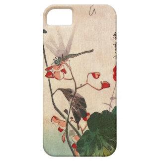 花にトンボ, 広重 Dragonfly and Flower, Hiroshige, Ukiyo-e iPhone 5 Covers