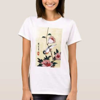 花に鳥, 広重 Bird and Flower, Hiroshige, Ukiyo-e T-Shirt