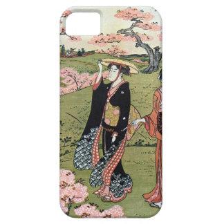 花見(三), 清長  Flower Viewing(3), Kiyonaga, Ukiyo-e iPhone 5 Cases