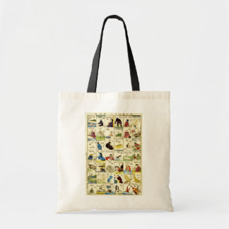 英単語表, 亀吉 Table of English words, Ukiyo-e Tote Bag