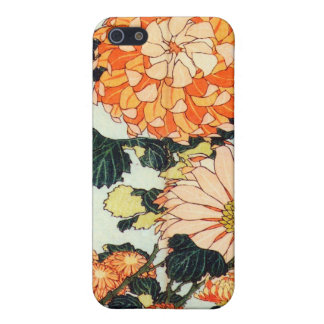 菊と蜂, 北斎 Chrysanthemum and Bee, Hokusai Case For iPhone SE/5/5s