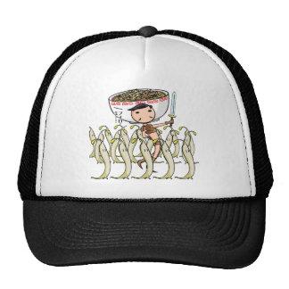 萌 palm soldier English story Ramen shop Kanagawa Trucker Hat