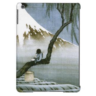 """葛飾北斎 """"富士と笛吹童図"""" del muchacho y del monte Fuji"""