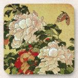 葛飾北斎 Katsushika Hokusai de la mariposa de los Posavaso