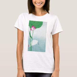 蓮に白鷺, 小原古邨 Lotus & White heron, Koson, Ukiyo-e T-Shirt