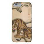 虎図, 若冲 Tiger, Jakuchū, Japan Art Barely There iPhone 6 Case