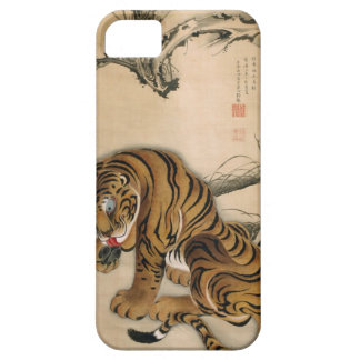 虎図, 若冲 Tiger, Jakuchū, Japan Art iPhone 5 Covers