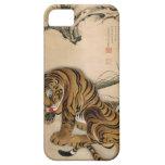 虎図, 若冲 Tiger, Jakuchū, Japan Art iPhone 5 Cases