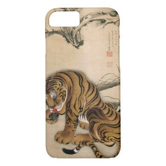 虎図, 若冲 Tiger, Jakuchū, Japan Art iPhone 8/7 Case