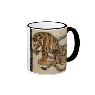 虎図, 若冲 Tiger, Jakuchu Ringer Mug