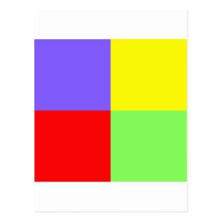 赤ー青ー緑ー黄 - 05 POSTAL