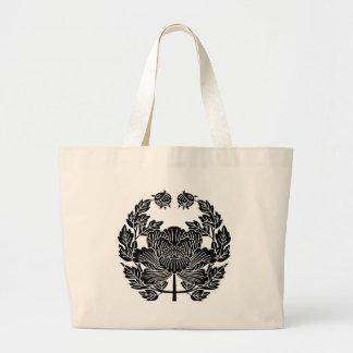 近衛牡丹_18世紀ver.2 large tote bag