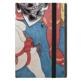金太郎と動物,国芳 Kintaro & Animals, Kuniyoshi, Ukiyo-e Case For iPad Mini