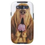 閉鎖した目を持つブラッドハウンド (、 del ヒューバートの猟犬 del St.) Galaxy S3 Protector