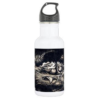 雲龍図, 曾我蕭白 Dragon with Cloud, Sumi-e Water Bottle
