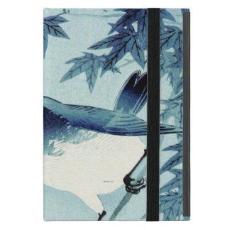 青い鳥, 古邨 Bird in Blue, Koson, Ukiyo-e Covers For iPad Mini