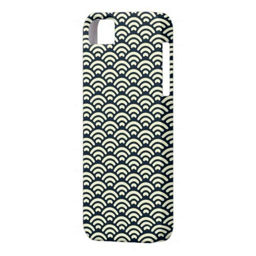 青海波 iPhone 5 CASE