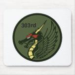 飛行隊パッチ 303o TFS del 第 303 Alfombrillas De Raton