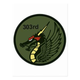 飛行隊パッチ 303o TFS del 第 303 Tarjeta Postal