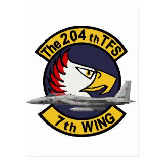 飛行隊戦競塗装 2010 del 第 204 postal