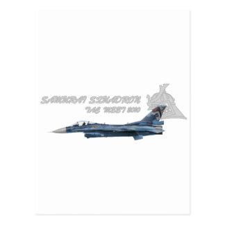 飛行隊戦競塗装 2010 del 第 3 tarjeta postal