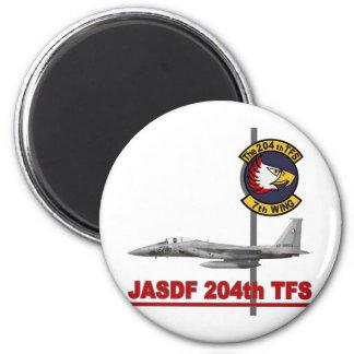 飛行隊戦競塗装 2010 JASDF 204o TFS del 第 204 Imán De Frigorífico