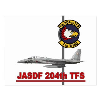 飛行隊戦競塗装 2010 JASDF 204o TFS del 第 204 Postales
