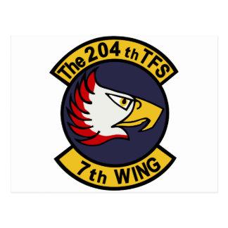 飛行隊 del 第 204 tarjetas postales