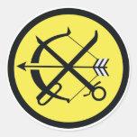飛行隊 del 航空団第 6 del 航空総隊西部航空方面隊第 8 etiqueta redonda