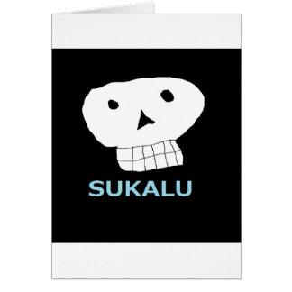 髑 髏 letter equipped 5.png Ⅿ r. skull you Card