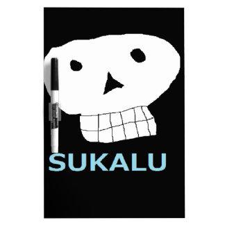 髑 髏 letter equipped 5.png Ⅿ r. skull you Dry Erase Board