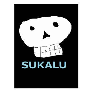 髑 髏 letter equipped 5.png Ⅿ r. skull you Postcard