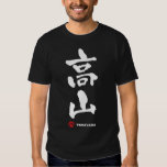 高山, kanji del japonés de Takayama Polera