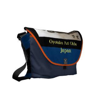 鮃! hirame. JAPAN GYOTAKU God dignity tower Yutaka Messenger Bag