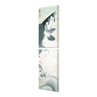 鯉魚図, 若冲  Carp (Koi), Jakuchu, Japan Art Canvas Print