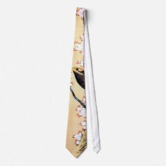 鷲と桜, 北斎 Eagle y flores de cerezo, Hokusai Corbatas Personalizadas