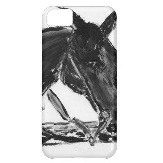 黒い馬 FUNDA PARA iPhone 5C