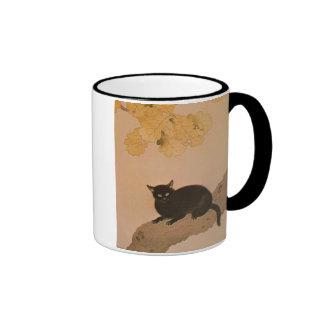 黒猫, 春草 Black Cat, Shunsō Mug