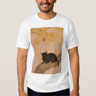 黒猫, 春草 Black Cat, Shunsō Tee Shirt