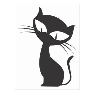 黒猫 POSTCARD