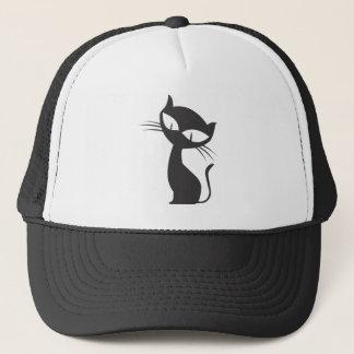 黒猫 TRUCKER HAT