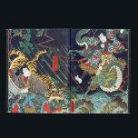 """龍虎, 豊国 Dragon &amp; Tiger, Toyokuni, Ukiyo-e Case For iPad Air<br><div class=""""desc"""">歌川豊国 Utagawa Toyokuni Utagawa Toyokuni&#160;(1769&#160;- February 24, 1825), also often referred to as&#160;Toyokuni I, to distinguish him from themembers of his school&#160;who took over his&#160;gō&#160;(art-name&#160;after he died) was a great master of&#160;ukiyo-e, known in particular for his&#160;Kabuki&#160;actor prints. He was one of the heads of the renowned&#160;Utagawa school&#160;of Japanese woodblock artists,...</div>"""
