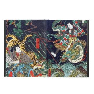 龍虎, dragón y tigre, Toyokuni, Ukiyo-e del 豊国