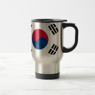 대한민국 de la Corea del Sur de la bandera Taza De Viaje De Acero Inoxidable