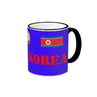 북한국기찻잔 del norte de la taza de Korea*