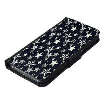 S✯T☆A★R✮S✫ Galaxy S6 Wallet Case