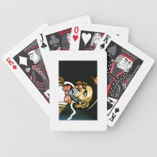 ゚ṧad ¢ℓ☹wn bicycle playing cards