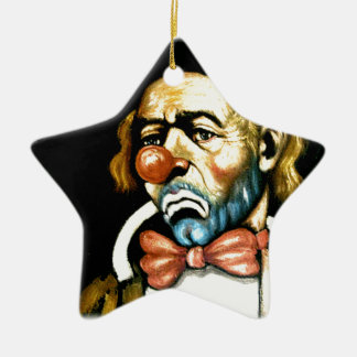 ゚ṧad ¢ℓ☹wn christmas ornament
